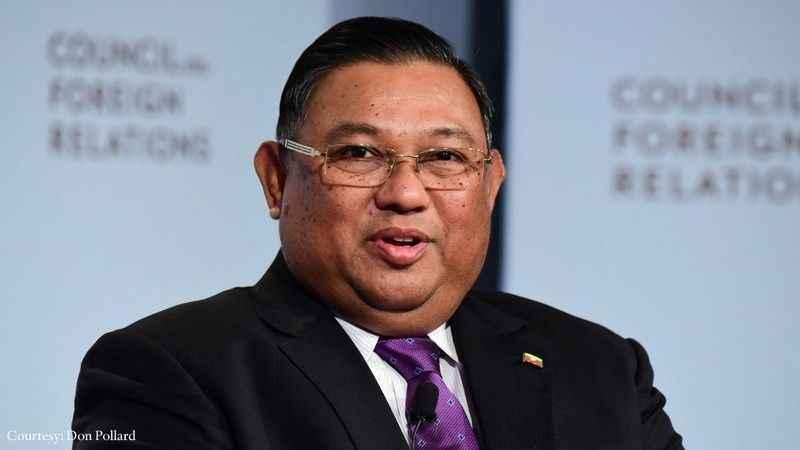 Myanmarlı yetkililer, Tayland'da görüşmelerde bulunuyor