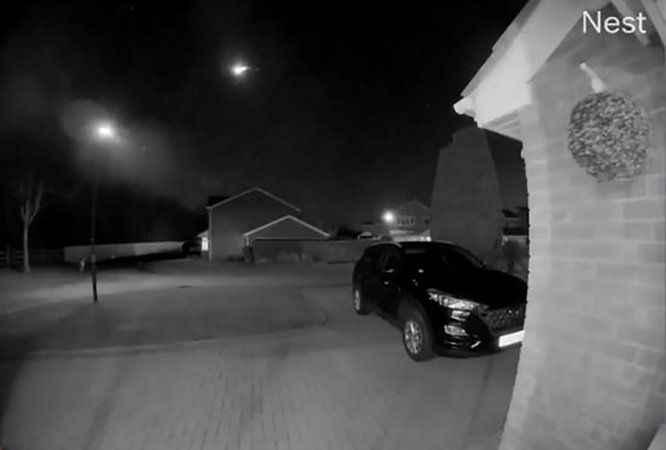 İngiltere semalarında meteor görüntülendi