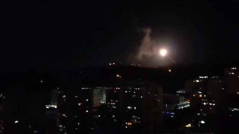 Siyonist İsrail yine Golan Tepelerinden Suriye'ye saldırdı!
