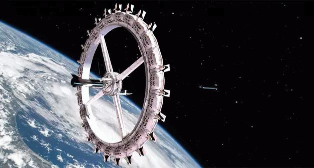 Bir ilk olacak! Uzay otelinin kapıları 2027'de açılacak!