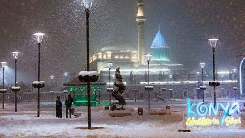 Konya hava durumu: Meteoroloji'den kar ve buzlanma uyarısı geldi!