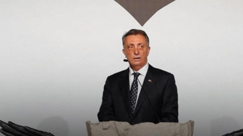 Beşiktaş Başkanı Ahmet Nur Çebi: Beşiktaş'ımız 118 yaşında!