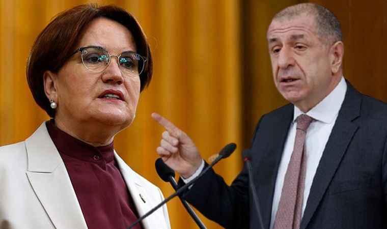 Meral Akşener'den Ümit Özdağ'ın istifasıyla ilgili ilk açıklama