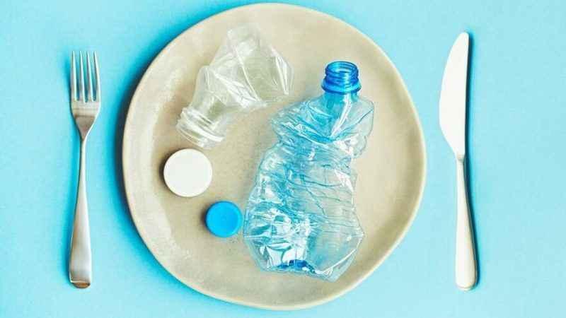 Haftada beş gram plastik yiyoruz!