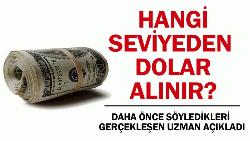 Hangi seviyeden dolar alınır dolar satılır? Uzmanı açıkladı