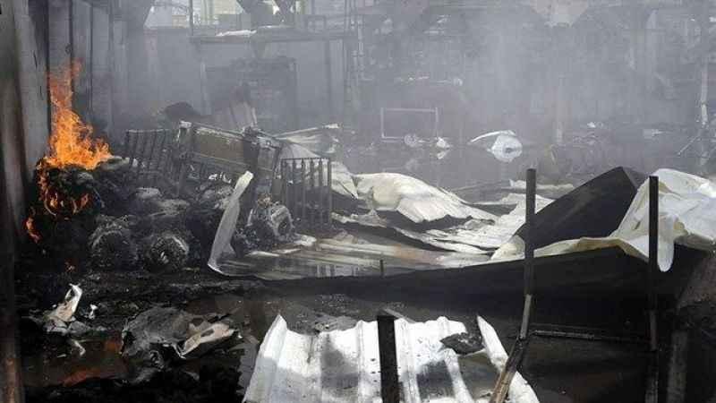 Yemen'de göçmen merkezinde yangın! 8 ölü 170 yaralı