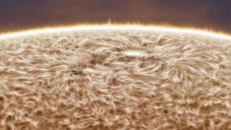 Amatör gözlemciden etkileyici Güneş fotoğrafı