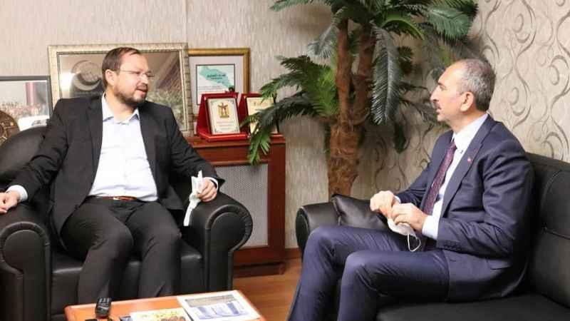 Adalet Bakanı Abdulhamit Gül AGD'yi ziyaret etti