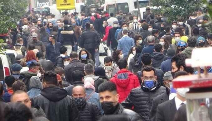 İstiklal Caddesi'nde girişler kapatıldı