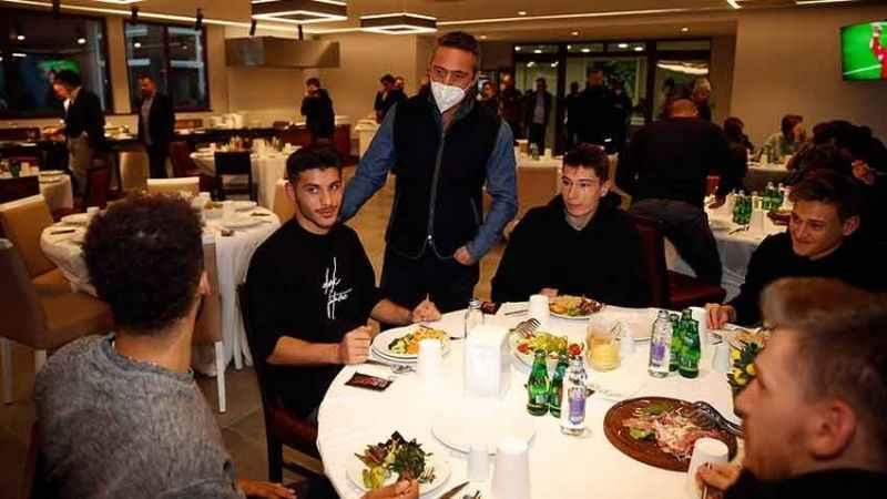 Ali Koç, Fenerbahçeli futbolculara ne dedi?