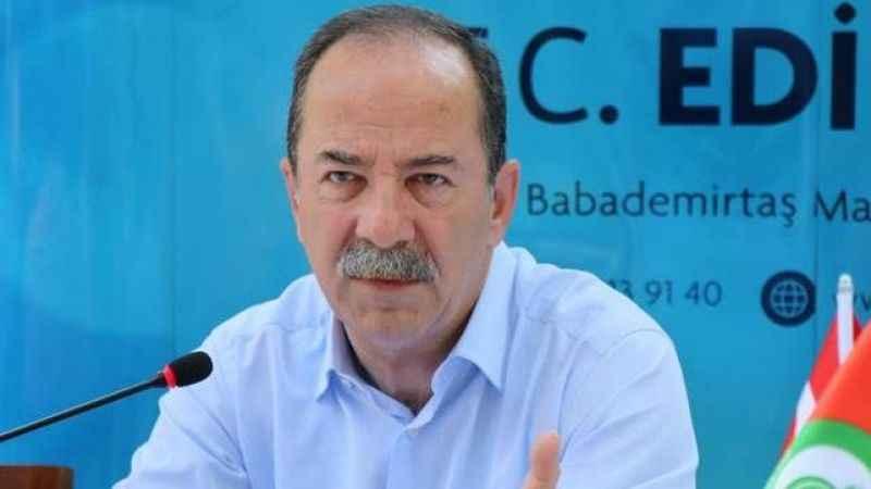 Edirne Belediye Başkanı Recep Gürkan'a hapis cezası