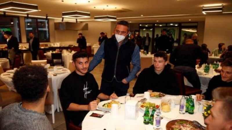 Fenerbahçe, moral yemeğinde bir araya geldi!