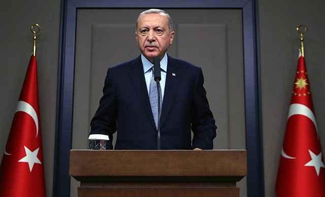 Cumhurbaşkanı Erdoğan'dan Bakan Soylu'ya başsağlığı mesajı