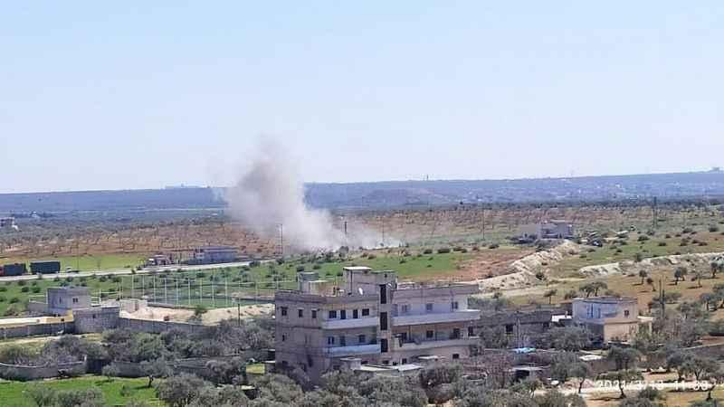Son Dakika: İdlib'de Türk askeri konvoyuna bombalı saldırı!