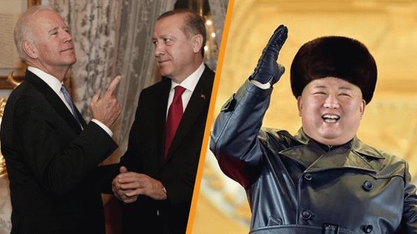 Erdoğan'ı hâlâ aramayan Biden Kim'in peşine düştü! Kim yanıt vermedi!