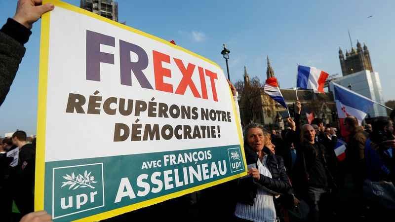Avrupa'da çatlak büyüyor! İngiltere'den sonra Fransa Frexit diyor