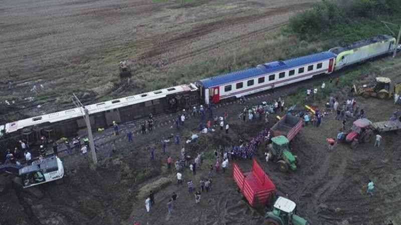 Çorlu tren kazasının ek bilirkişi raporunun detayları ortaya çıktı