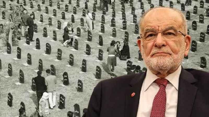 Karamollaoğlu, Halepçe katliamında vefat edenleri andı