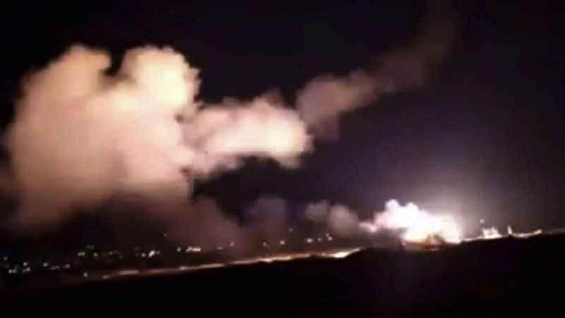 Siyonist İsrail'den Şam'a füze saldırısı