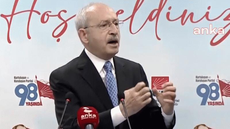 Kılıçdaroğlu'ndan HDP açıklaması Parti kapatmaları bırakmalıyız
