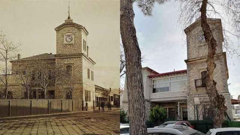 131 yıllık tarihi binaya kaçak PVC yapıldı!