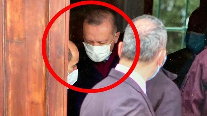 Erdoğan'ın Cuma çıkışı dikkat çeken fotoğrafı!