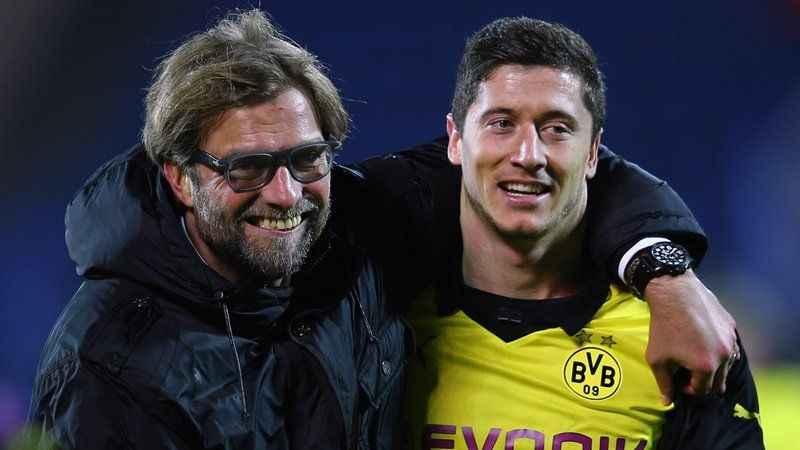 Jürgen Klopp: Çalıştığım en iyi oyuncu Lewandowski!