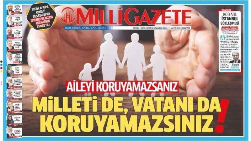 Millî Gazete'nin mücadelesi sonuç verdi!