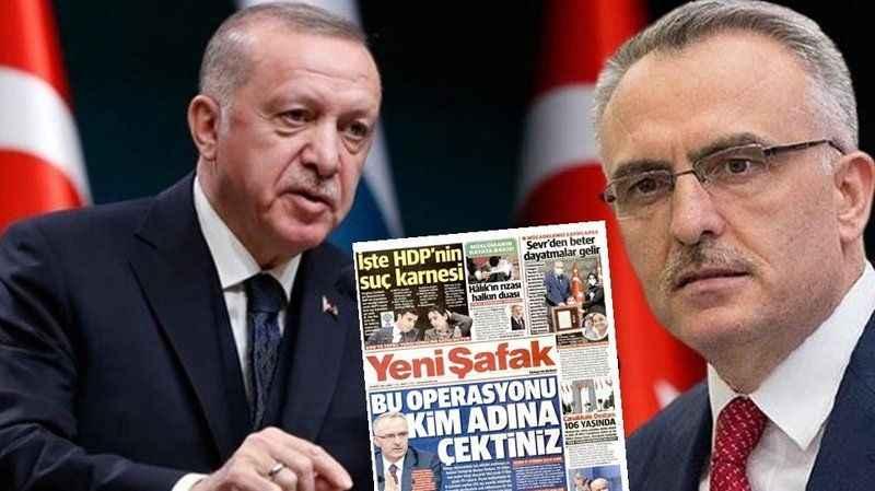 Yeni Şafak'tan, Naci Ağbal'a operasyon! Yeni başkan dikkat çekti
