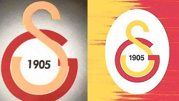 Galatasaray'da hatalı logo! Sarı kırmızılılar şaşkın