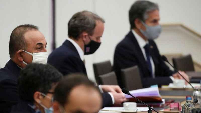 NATO dışişleri bakanları Brüksel'de bir araya geldi
