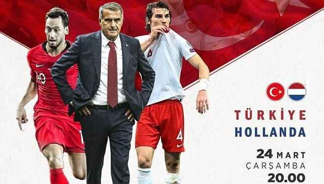 Türkiye - Hollanda maçı ilk 11'leri belli oldu!