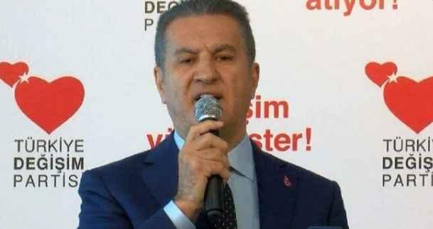 Mustafa Sarıgül, kurultay için tarih verdi