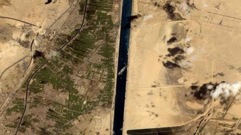 Süveyş Kanalı'nda yeni bir sorun daha çıktı