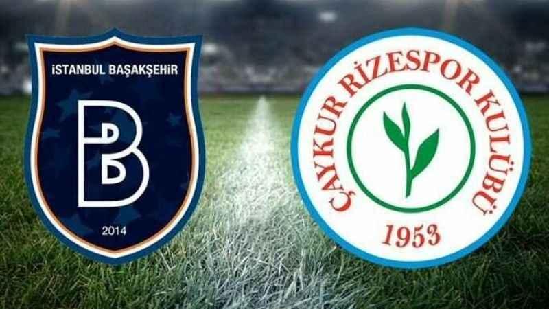 Çaykur Rizespor Başakşehr'i yendi!