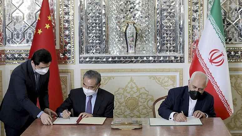 Çin'den ABD'ye 400 milyar dolarlık göz dağı! İran'a dev yatırım