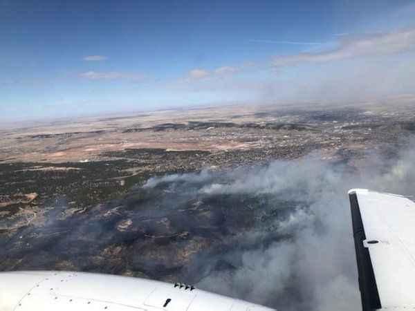 ABD'de kırmızı alarm: Yangın nedeniyle yüzlerce ev boşaltıldı