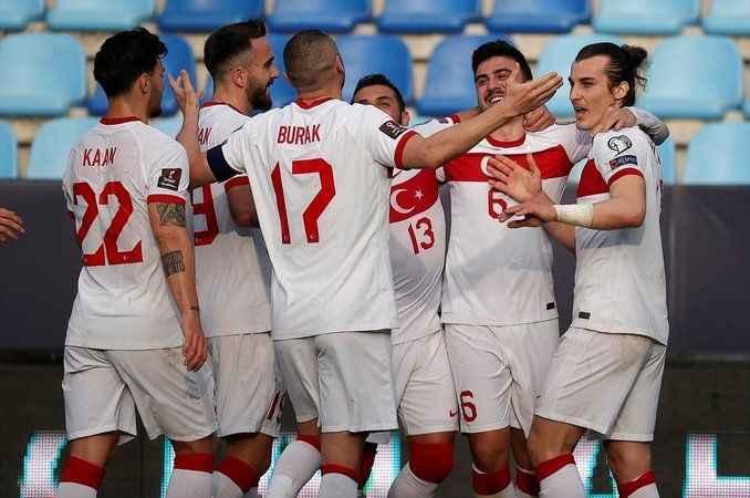 Türkiye-Letonya maçının muhtemel 11'leri