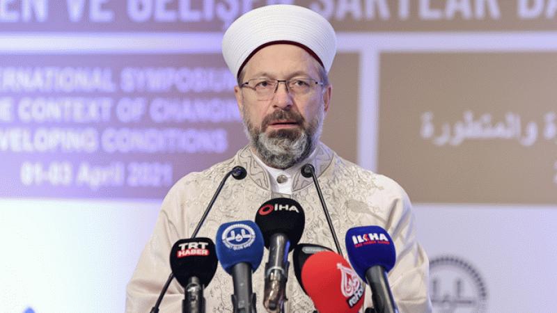 Ali Erbaş'tan 'hac' açıklaması: Dua edelim bir miktar Müslüman gitsin