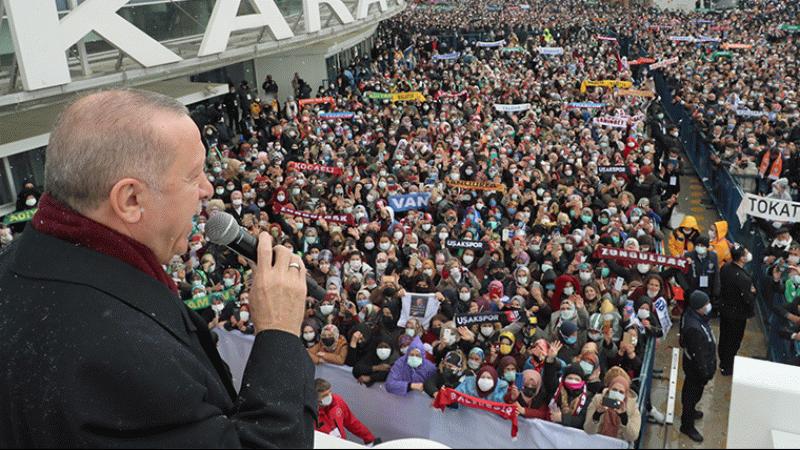 Erdoğan'ın açıkladığı AKP üye sayısı yanlış çıktı!