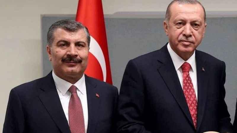 Bakan Koca'dan Erdoğan'a teşekkür: Salgınla mücadele siyaset üstü konu