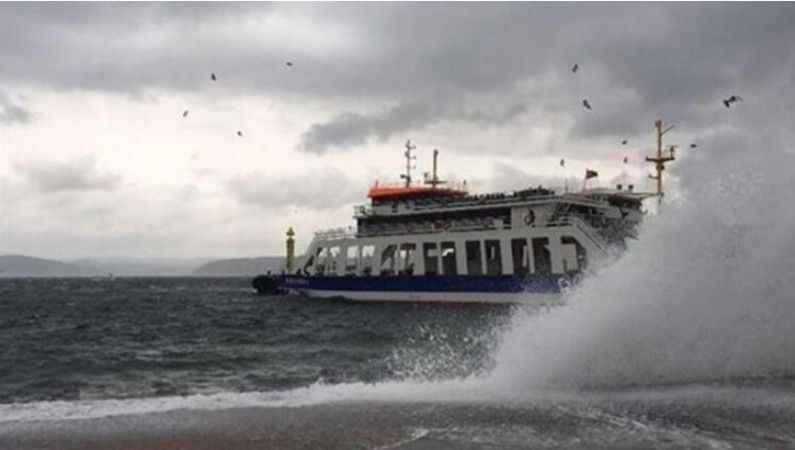Bazı feribot seferleri iptal edildi
