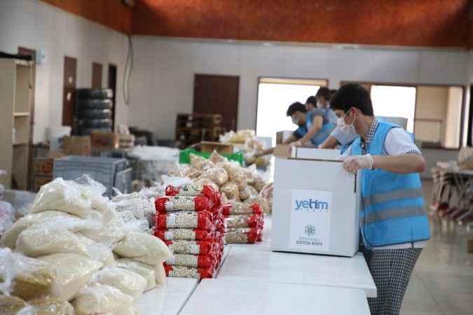 Yetim Vakfı Ramazan çalışmalarına başladı