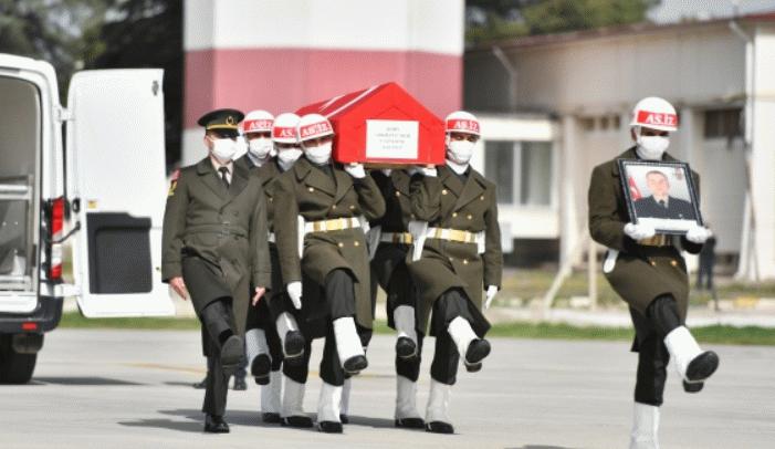 Şehit Piyade Uzman Onbaşı Çakır'ın cenazesi memleketine gönderildi