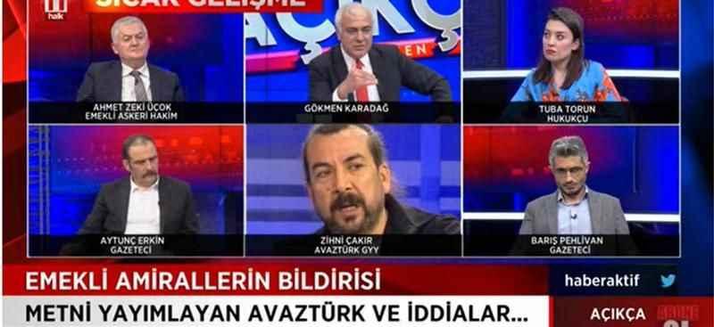'Emekli amiraller bildirisi AKP'li bakana da gönderildi'