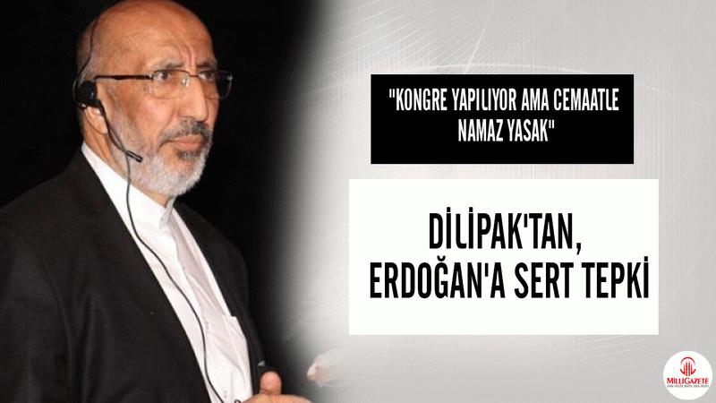 """Abdurrahman Dilipak: """"Kongre yapılıyor ama cemaatle namaz yasak"""""""