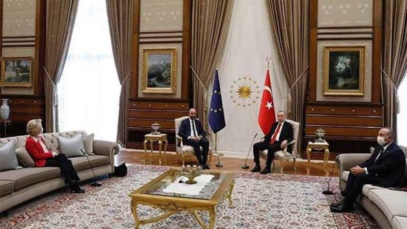 AB liderlerinin ziyaretindeki protokol arasındaki anlaşmazlık