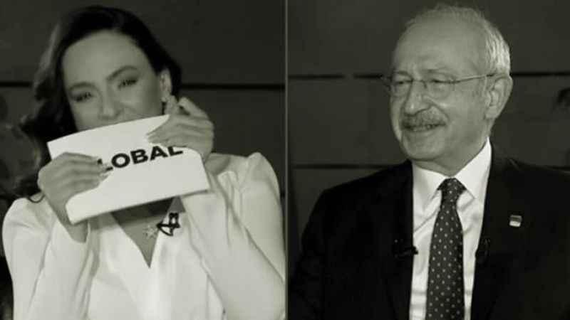Kemal Kılıçdaroğlu, Buket Aydın'a canlı yayında 'kahkaha'yı hatırlattı