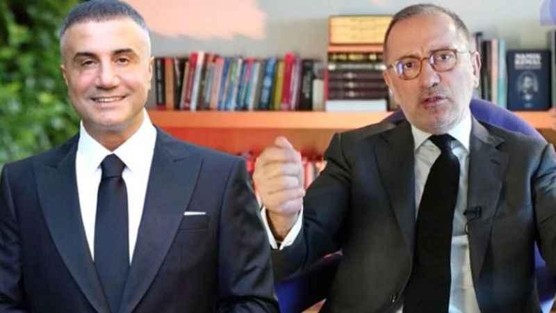 Fatih Altaylı'dan Sedat Peker için sert sözler: Botokslu mafya...