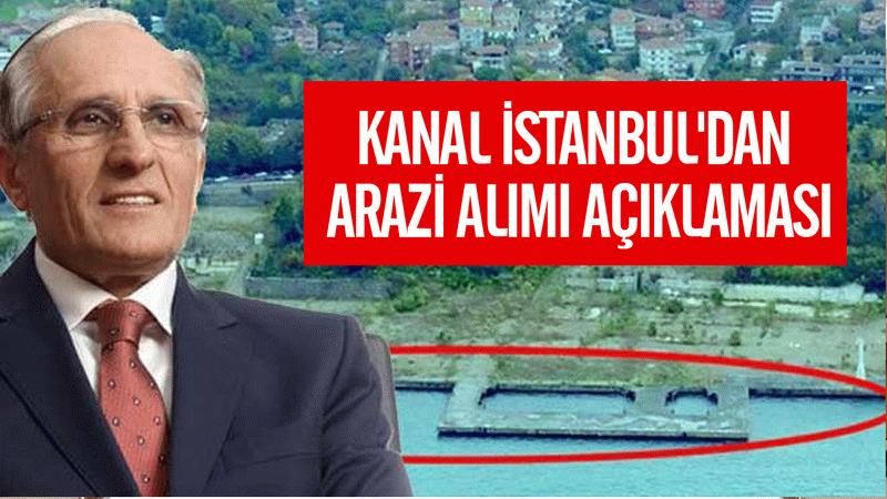 Torunlar'dan Kanal İstanbul'dan arazi alımı açıklaması
